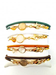 Lillis Small Wrapped Bracelets